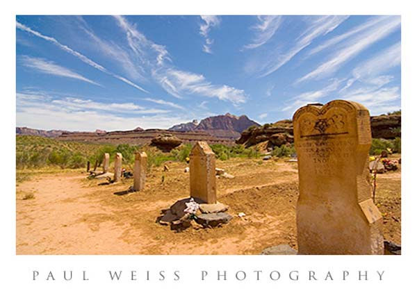 Grafton Ghost Town Cemetery